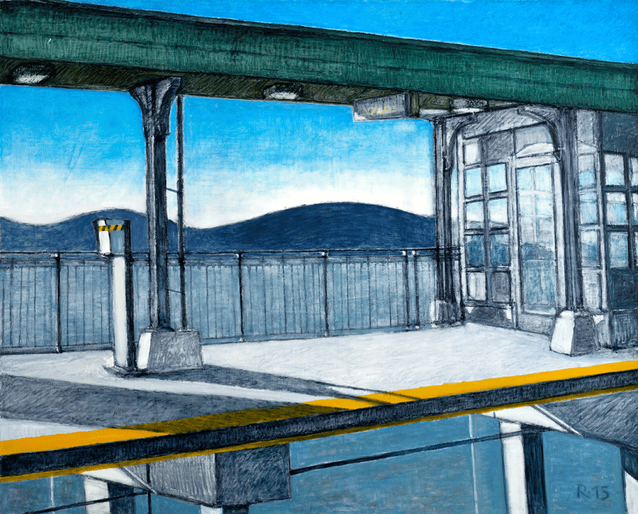 Train Station - NOBIG.ART