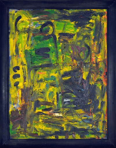 Green Abstract - NOBIG.ART