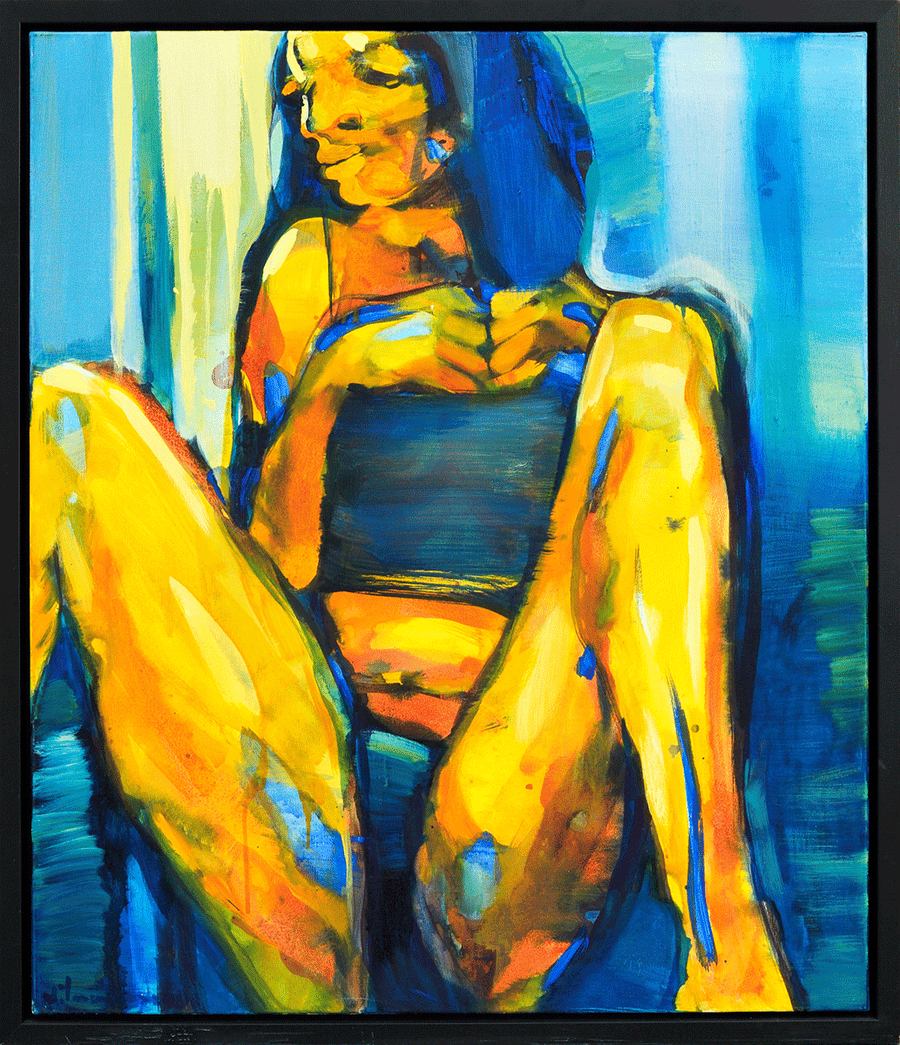 Sitting woman - NOBIG.ART