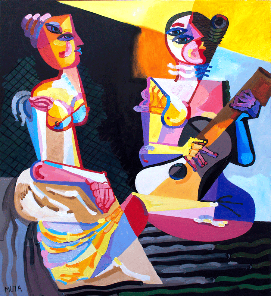 Violinists II - NOBIG.ART