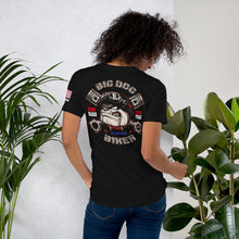 Load image into Gallery viewer, Big Dog Biker's ROAD DAWG Women's Short-Sleeve T-Shirt - F&B Design