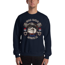 Load image into Gallery viewer, Big Dog Biker's ROAD DAWG Men's Sweatshirt