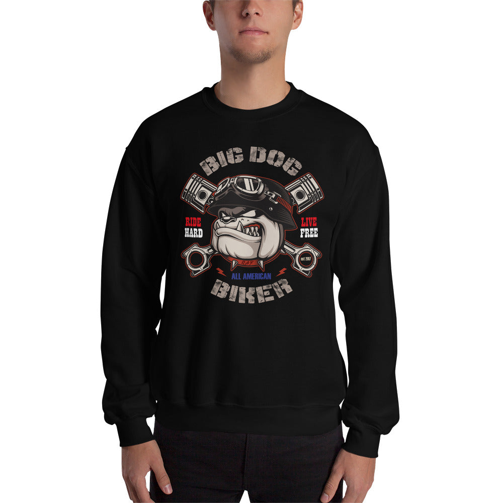 Big Dog Biker's ROAD DAWG Men's Sweatshirt