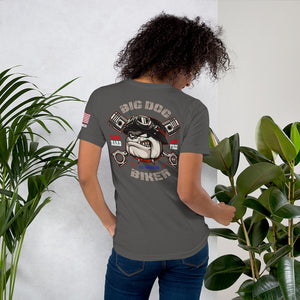 Big Dog Biker's ROAD DAWG Women's Short-Sleeve T-Shirt - F&B Design