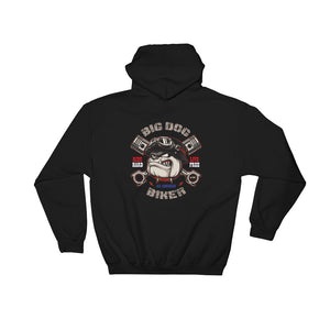Big Dog Biker's ROAD DAWG Hoodie - F&B Designs