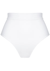 Dolce Bottoms Ribbed White