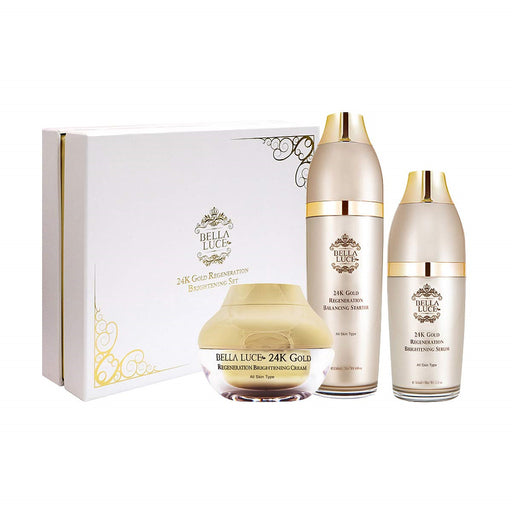 [Bella-Luce] 24K Gold Regeneration Brightening Anti Aging Cream Set