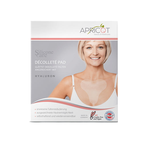 apricot beauty decollete wrinkle remover pad