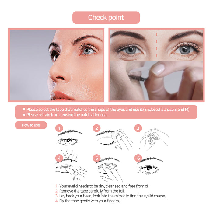 apricot beauty eyelid taping patch