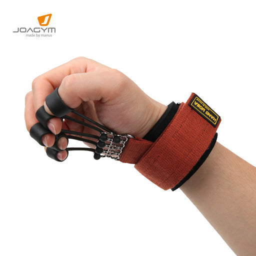 Finger and Hand Extensor Exerciser Trainer with Resistance Band Stretcher for Guitar, Climbing, Therapy