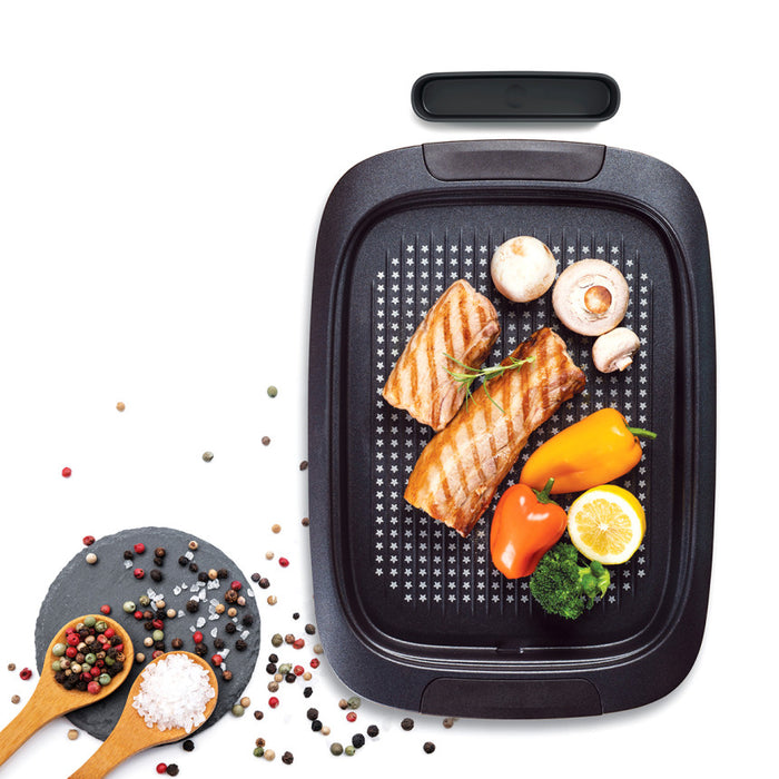 [Happy Call]Grilled Plate IH Grill Pan Meat Plate For Induction Pork Plate