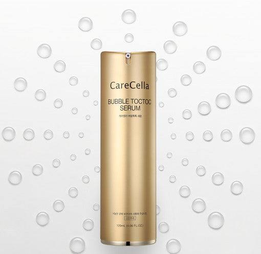 Care Cella Bubble TocToc Serum 120ml WhiteningWrinkle ImprovementSkin RejuvenationElasticity