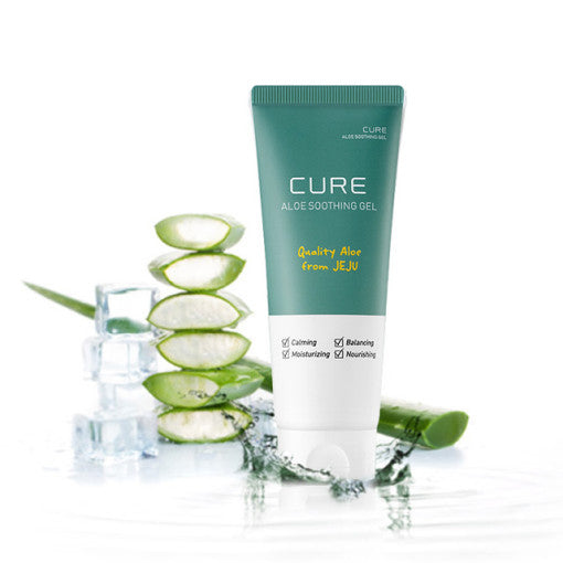 Kim Jung Moon Aloe Cure Aloe Soothing Gel 150ml x 2EA Highly Moisturizing No additives for Skin Irritation