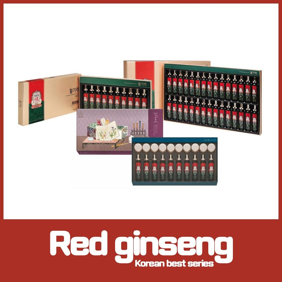[Cheongkwanjang]Korean Red Ginseng Vitality Ampoule health Drink 20mlx10/30Bottles Lively 10 tablets
