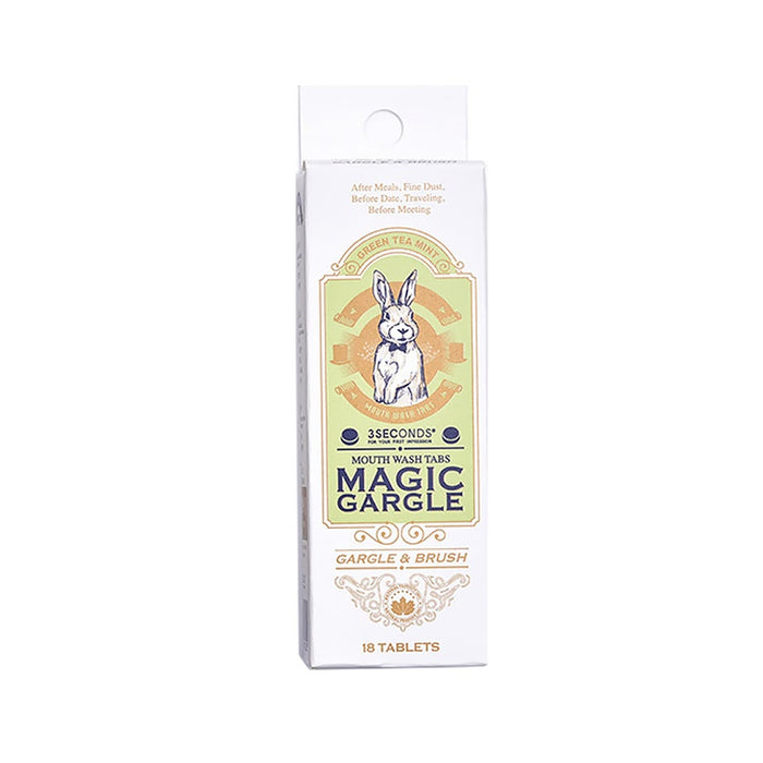 [Three Seconds]4 flavors magic gargle,chewable,solid,portable toothpaste,soft foam 853g x 18/36T