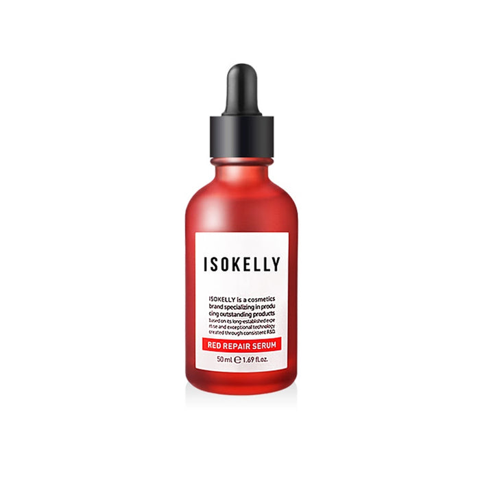 [Isokelly] 3 Kinds Of Basic Trouble  Care Set For Acne Skin Red Repair Toner 130ml+Serum+Cream 50ml