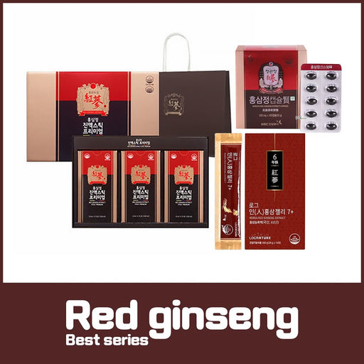 [Cheongkwanjang Log Nature Ginsengs Road] Korean Red Ginseng Extract Stick / Capsule/ Jelly Pick 1