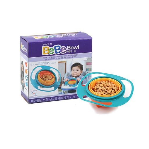 Spill-proof BeBe Snack  Bowl Baby/Kids Food Tray