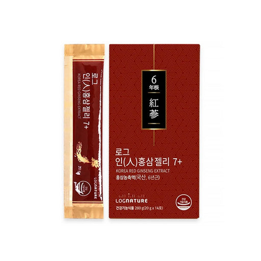 [Log Nature]6 Years Red Ginseng Jelly 7+ (20gx14EA) 1Box