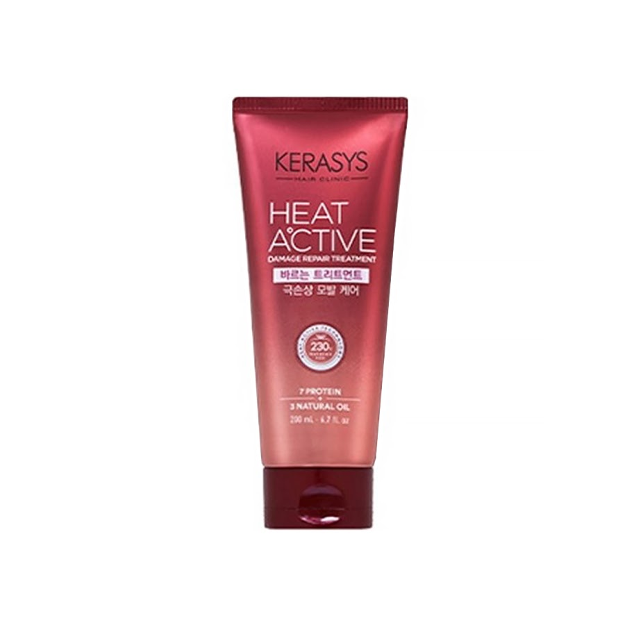 Kerasys Heat Active Dry Essence 220ml x 2/4EA Treatment to apply (extreme damage hair care)