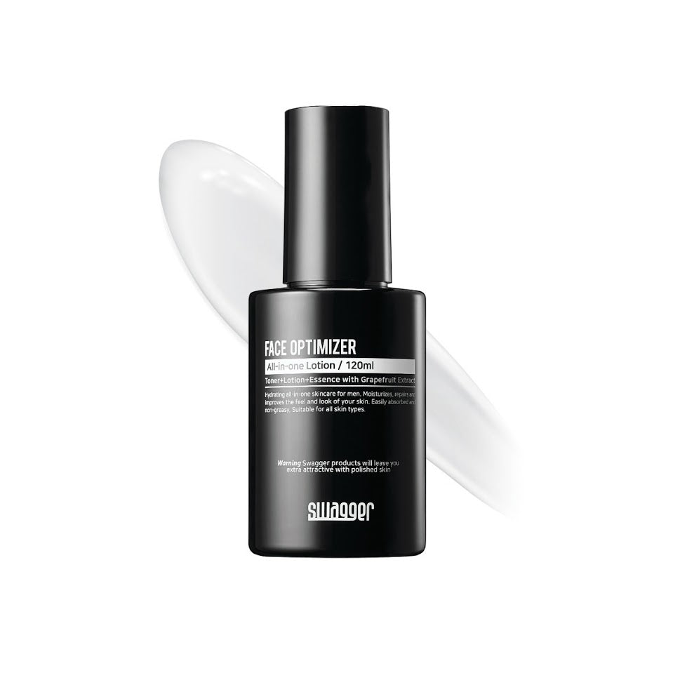 Swagger Mens Toner, essence, lotion All-in-One Lotion Face Optimizer 120ml