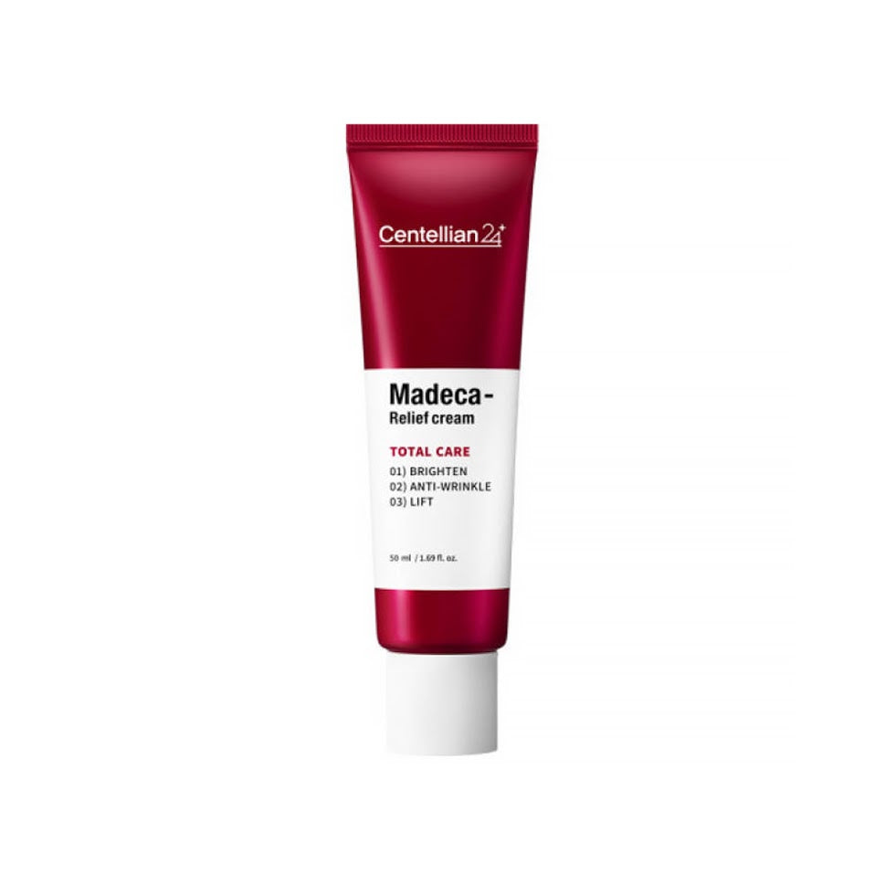 [Centellian 24+]Madeca Reliet Cream 50ml Total Care-Brighten Anti Wrinkle Lift