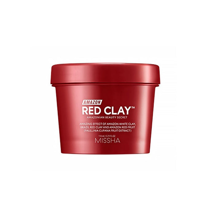 [MISSHA] AMAZON Red Clay Pore Mask 110ml Oil Absorbing Pore Refining