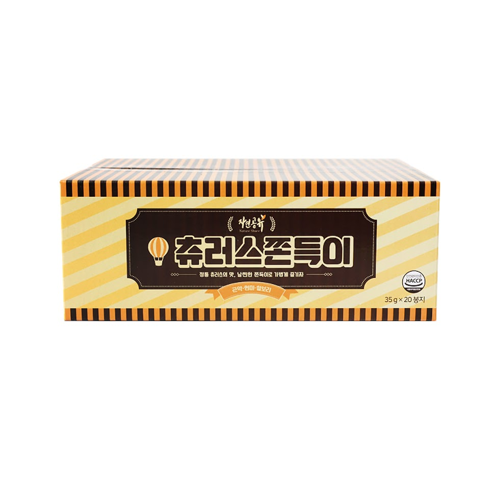 [Natural shared] Churros sticks 2 pieces (35g x 20 bags) 700g 1 box konjac sticky