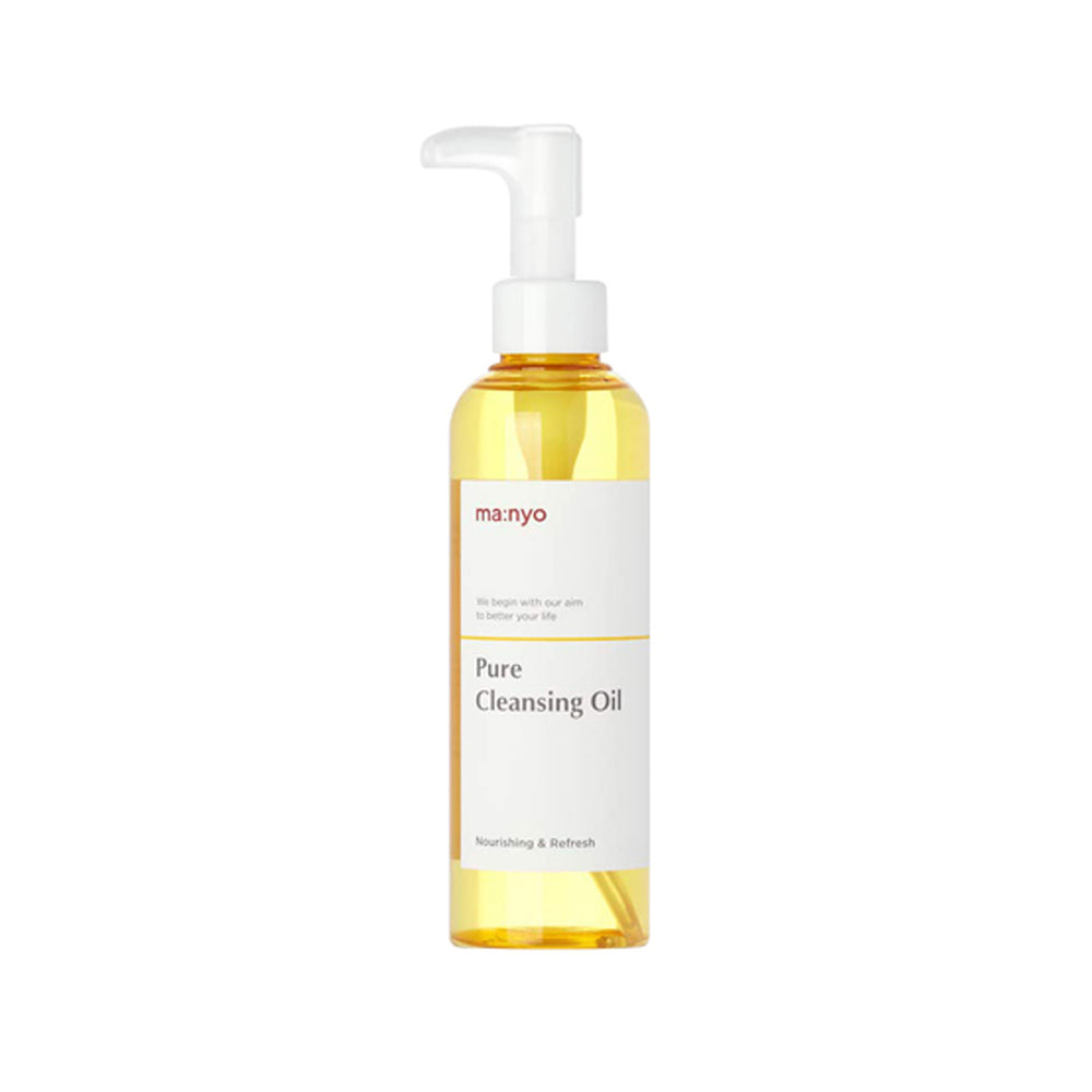 Manyo Factory Pure Cleansing Oil 200ml  moisturizing keratin and Blackhead Care