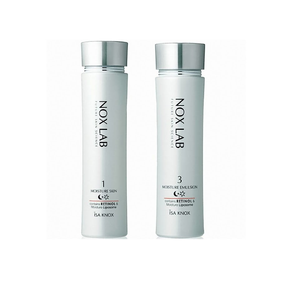 ISA KNOX Nox Lab Skin, Lotion  2 set Can be used both night and day
