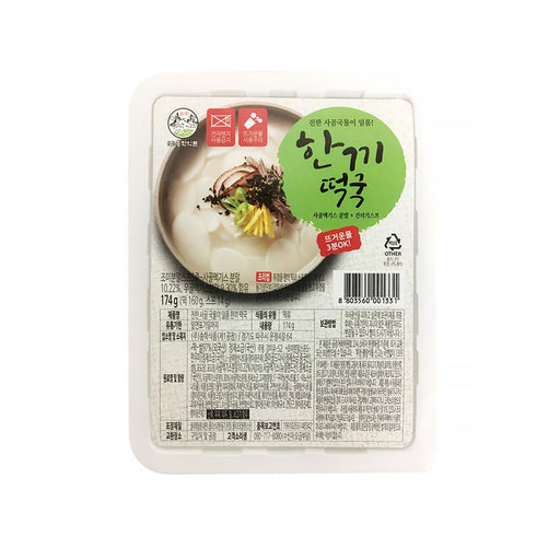 (Songhak Food) Instant Rice Cake Soup 174g x 5EA Just 3 minutes of hot water OK!