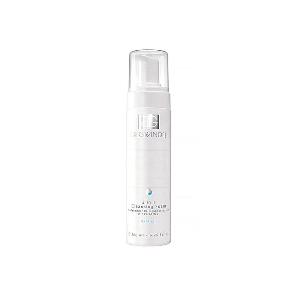 [Dr. grandel] 2in1 Cleansing Foam 200ml Mousse-type With Exfoliating Effect