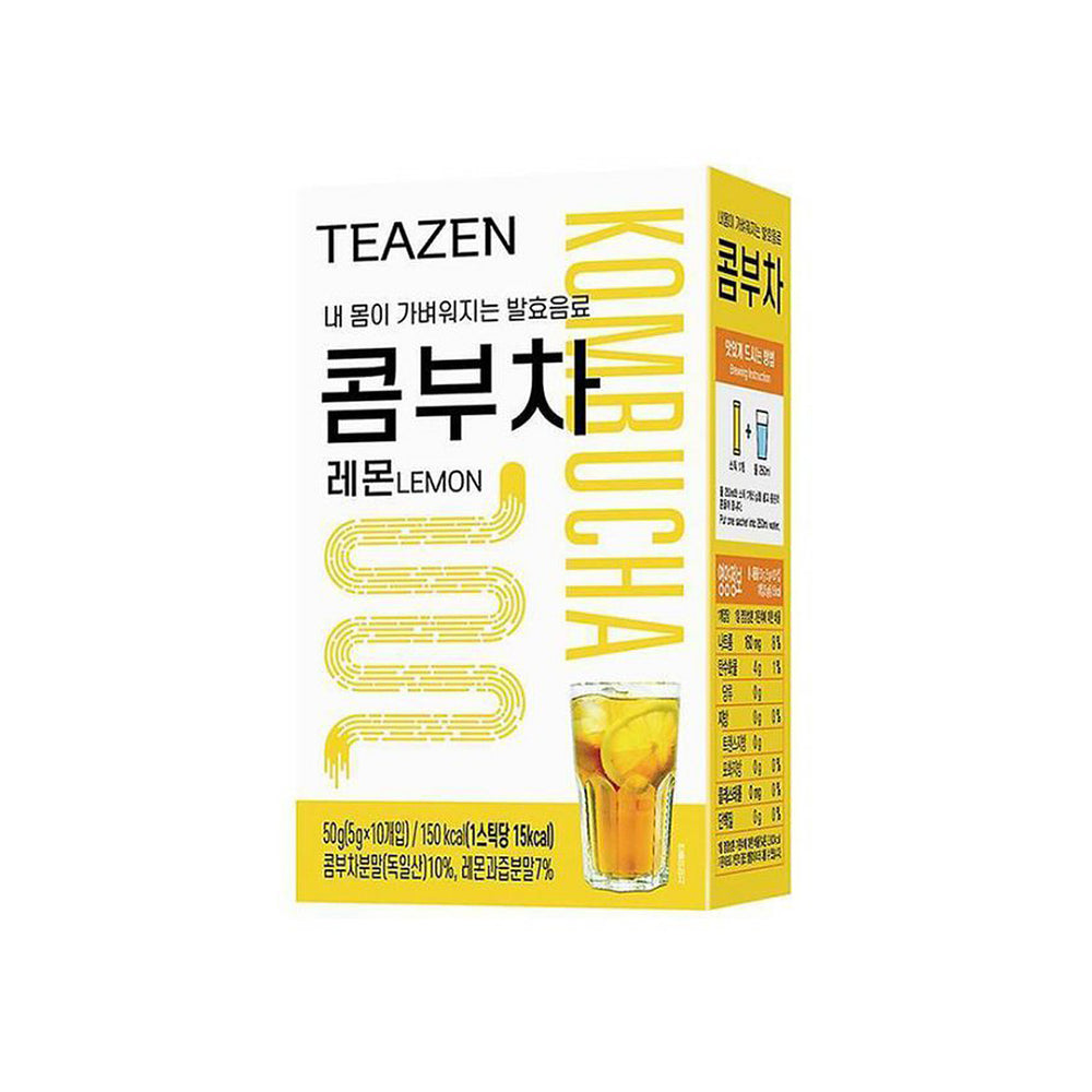 Teazen Kombucha-Lemon (5g x 10EA) x3Box  12 types of lactic acid bacteria prebiotics