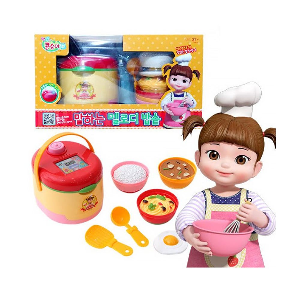 Playmax-Kongsoons Melody Rice Cooker (Basic)  Korean popular animation toys