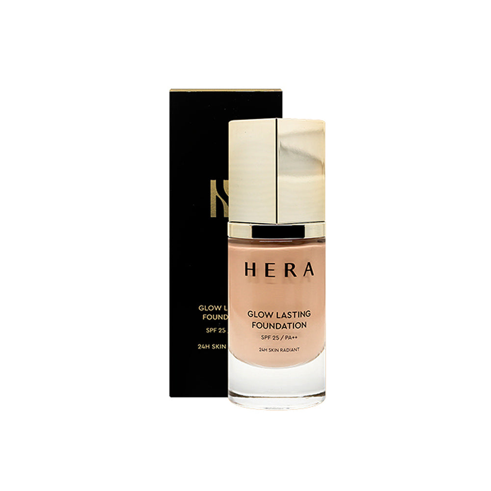 HERA Glow Lasting Foundation SPF25/PA++ 35ml (Moist, Shiny Foundation)