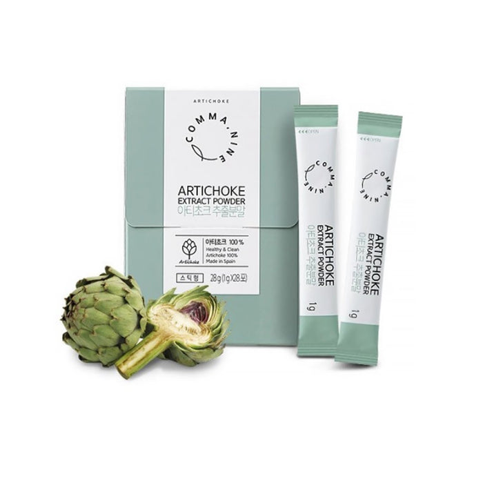 [Comma Nine] Artichoke Extract Powder 1g x 28 Packs 1Box Dietary Fiber Powder