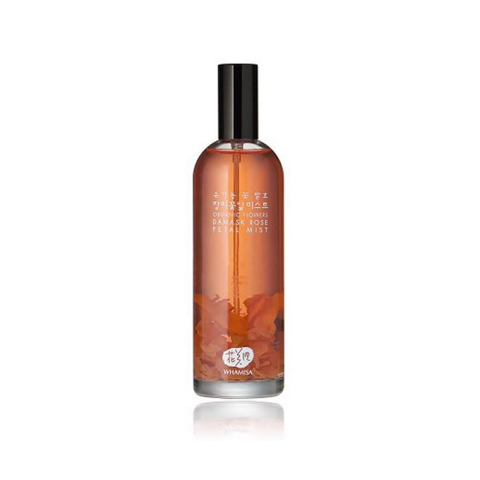 Whamisa Organic Flowers Damask Rose Fetal Mist 100ml