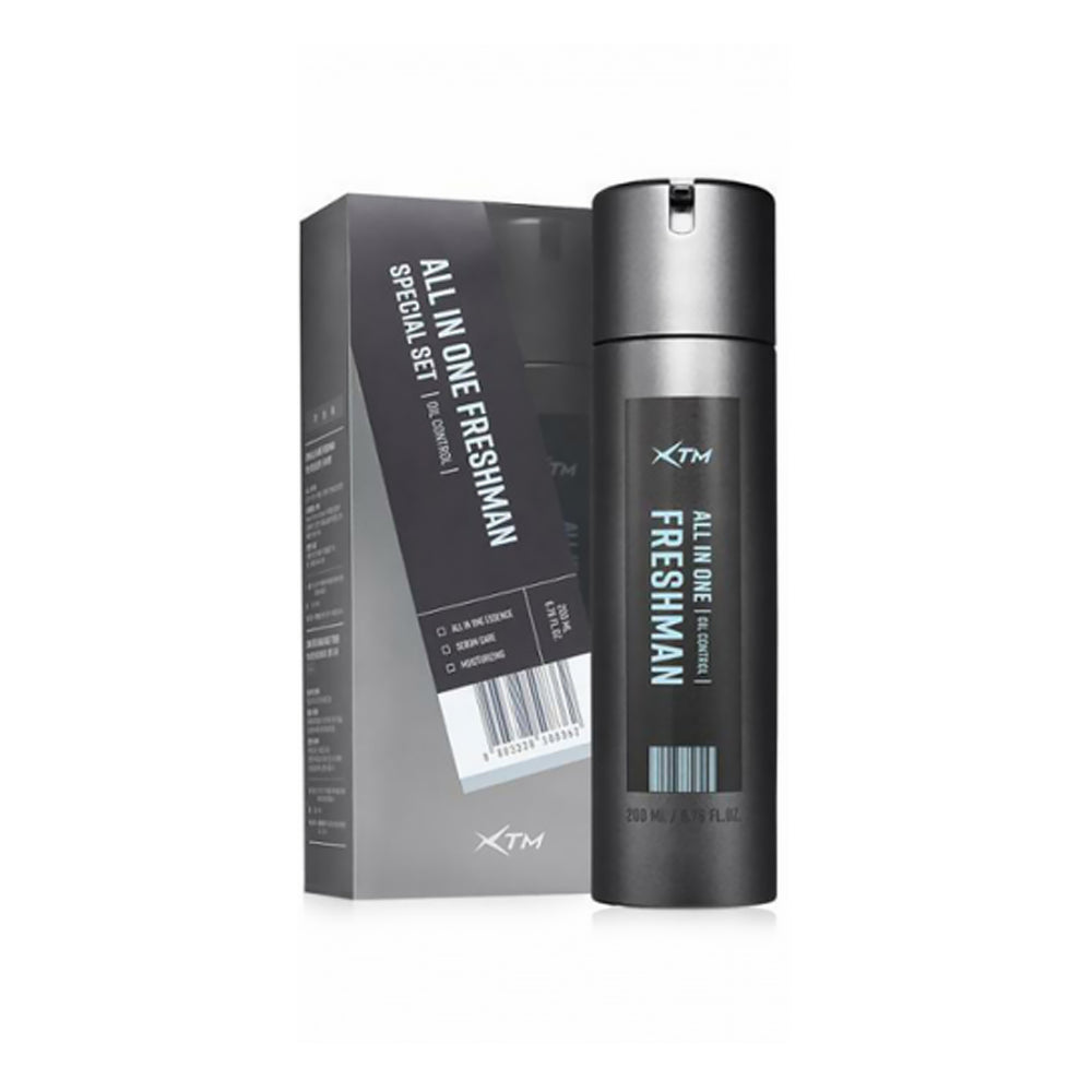 XTM All-in-One Fresh Man 200mL Mens All-in-One Skin Care balances the oil and moisture of mens skin