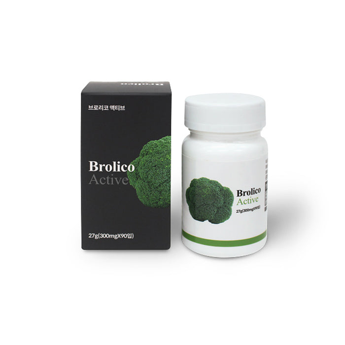 Brorico active broccoli extract health food vitality recharge 40s nutrient 300mgX90 tablets