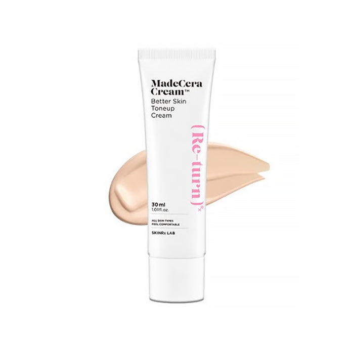 [Skin RX Lab] Madecera Cream Better Skin Tone Up Sun Cream 30ml SPF 50+ PA++++