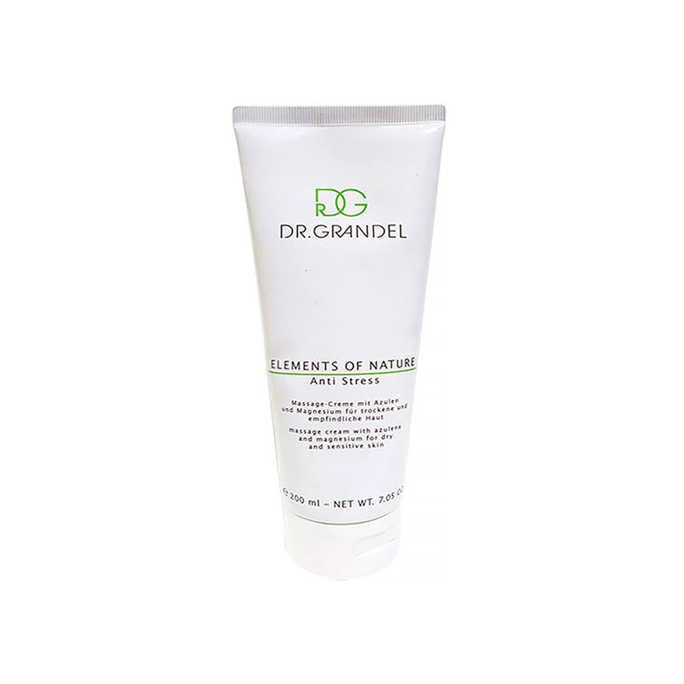 Dr. Grandel Anti Stress Cream 200ml Eco-Friendly Cream Moisturizes Any Skin Balances It Well calms