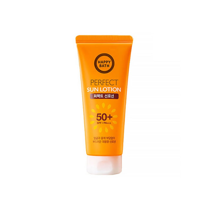 [1+1+1[Happy Bath] Perfect Sun Lotion 200g SPF50+ PA+++ Large-scale sun lotion
