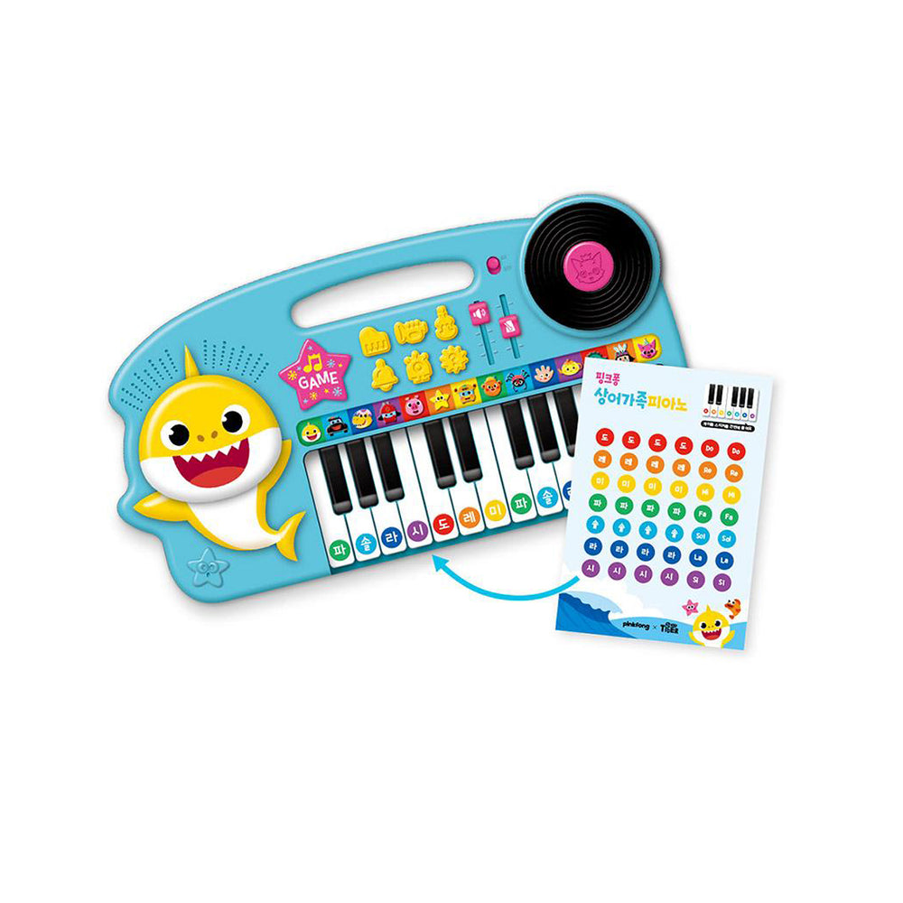 Pinkfong Shark Family Piano / Music Play Baby Shark Music Game Baby Songs