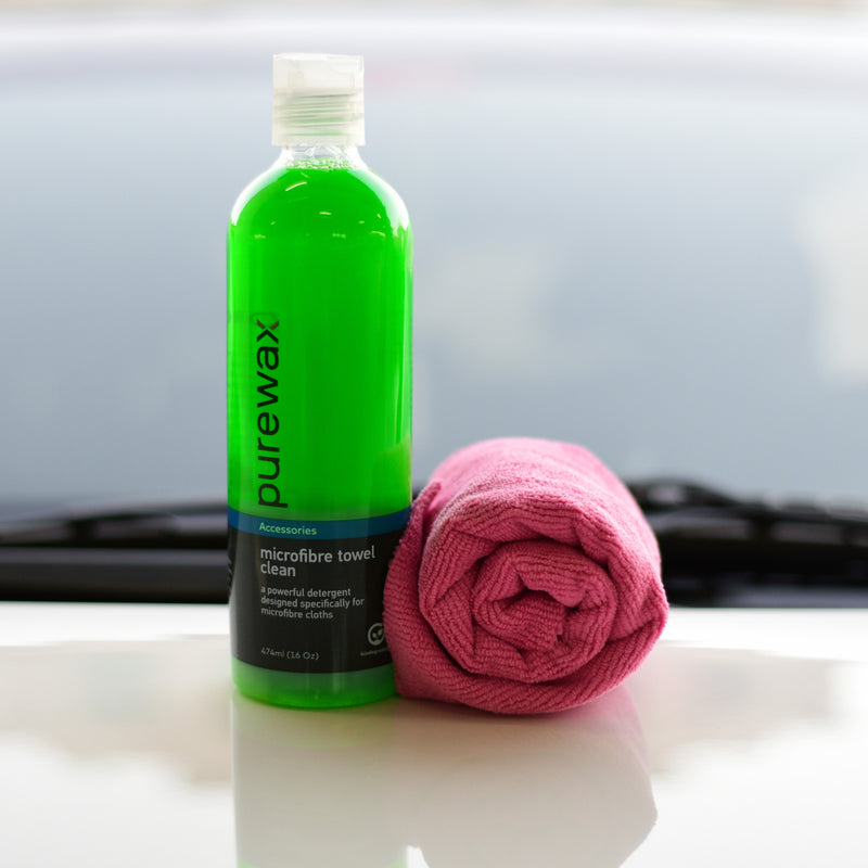 Purewax Waterless & Towel Clean Combo