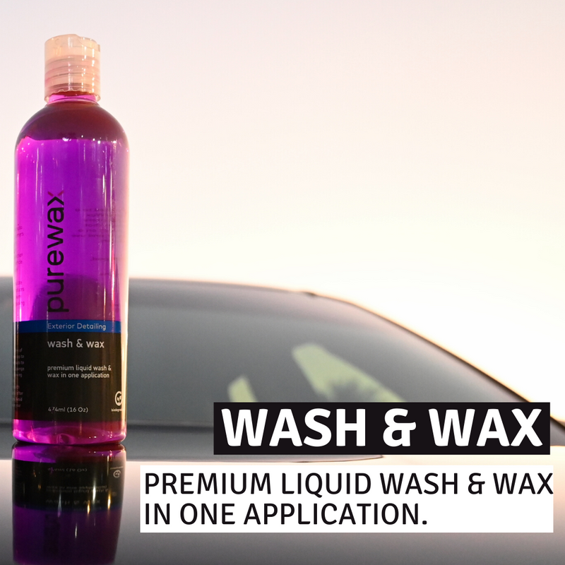 PureWax Wash and Wax 16 Oz (474ml)