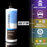 PureWax Metal Cleaner