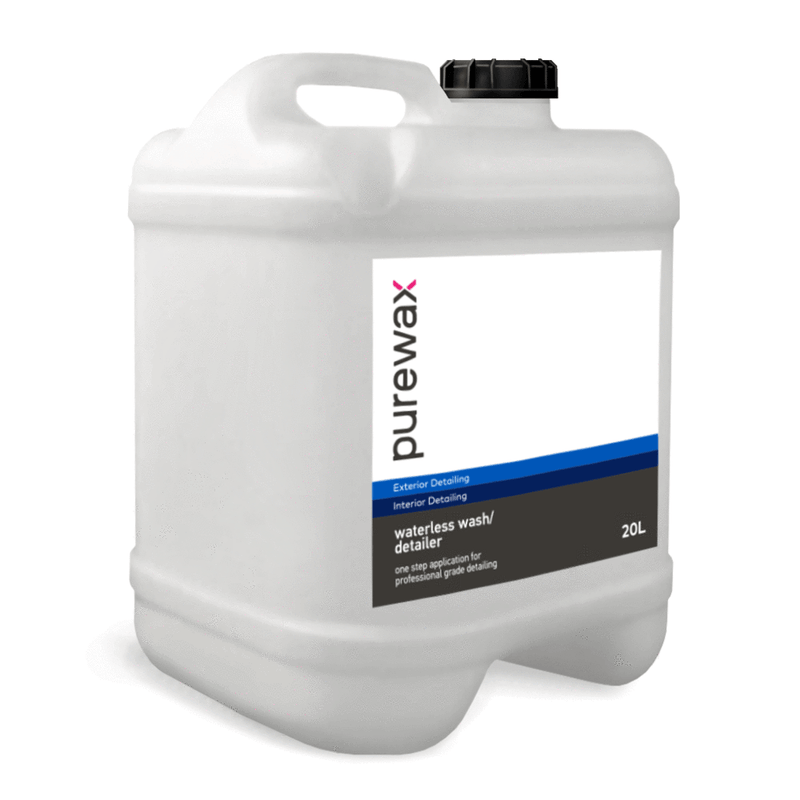 PUREWAX WATERLESS WASH/DETAILER - 20L DRUM