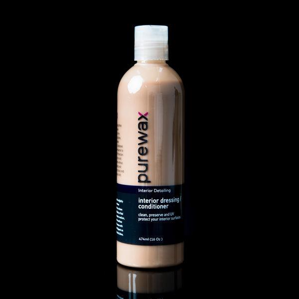 PureWax Interior Dressing / Conditioner 16 Oz (474ml)