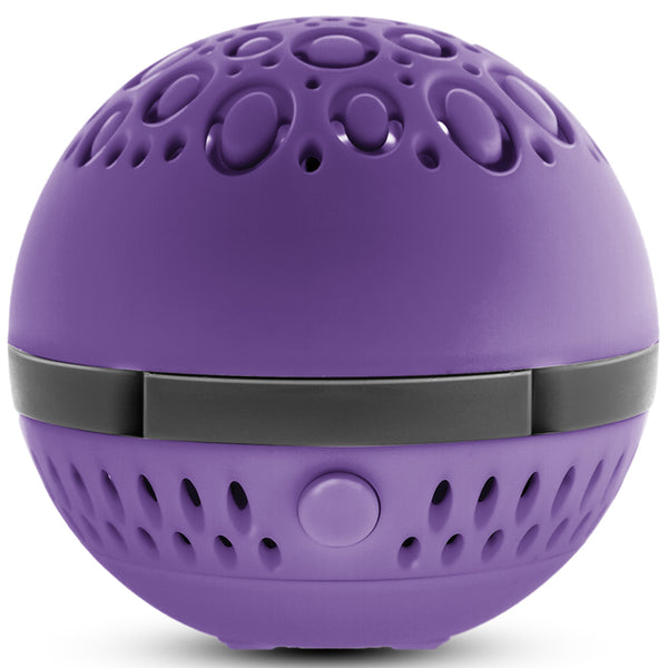 Aromasphere portable essential oil diffuser in purple
