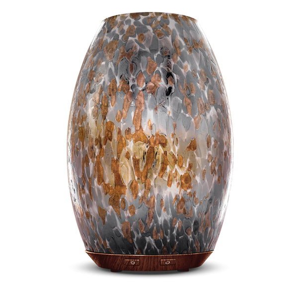 Nature's Remedy Lux Glow Breccia Glass Essential Oil Diffuser